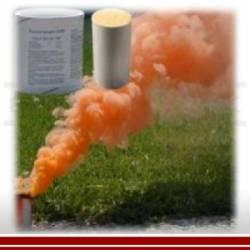 Rauchpatrone AX-60-Set, orange