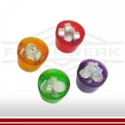 Leuchtbecher farbig