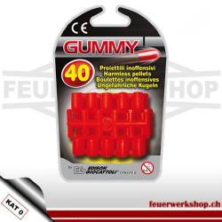 Gummi Munition 40 Stück
