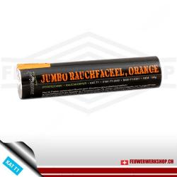 Jumbo Rauchfackel, Orange