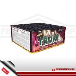 Leises Batteriefeuerwerk *Troja*