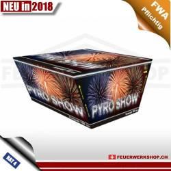 *Pyro Show* Fächer-Feuerwerksbatterie