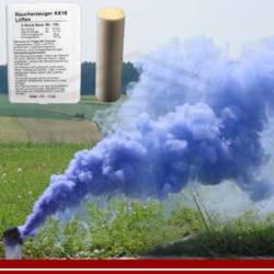 Rauchpatrone AX-18-Set, blau