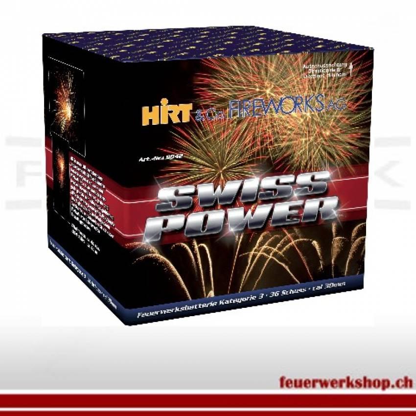 Batteriefeuerwerk *Swiss Power*