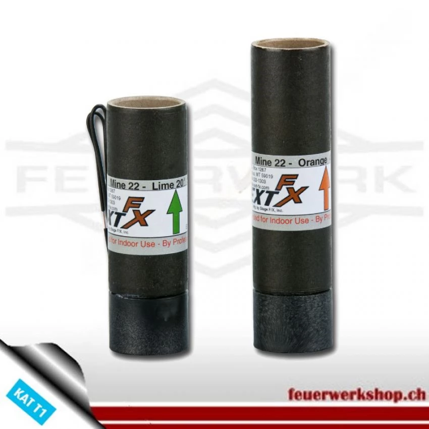 Feuertopf 50mm Goldflitter 24m