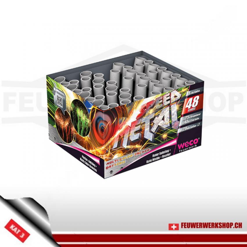 Feuerwerksbatteri Speed Metal
