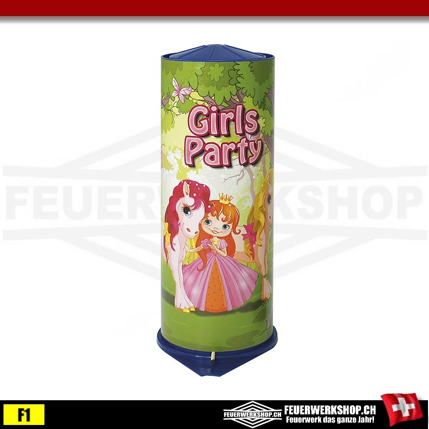 Maxi Tischbombe Girls Party