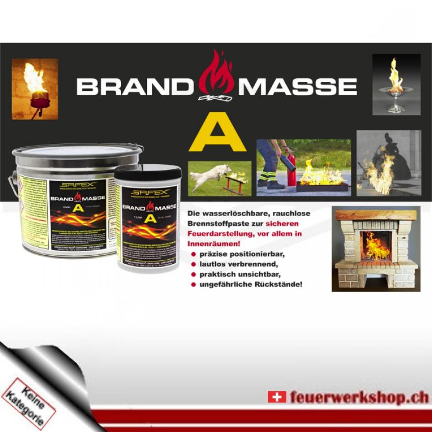 Brennstoffpaste - Brandmasse A - Brandgel von SAFEX® (1 l)