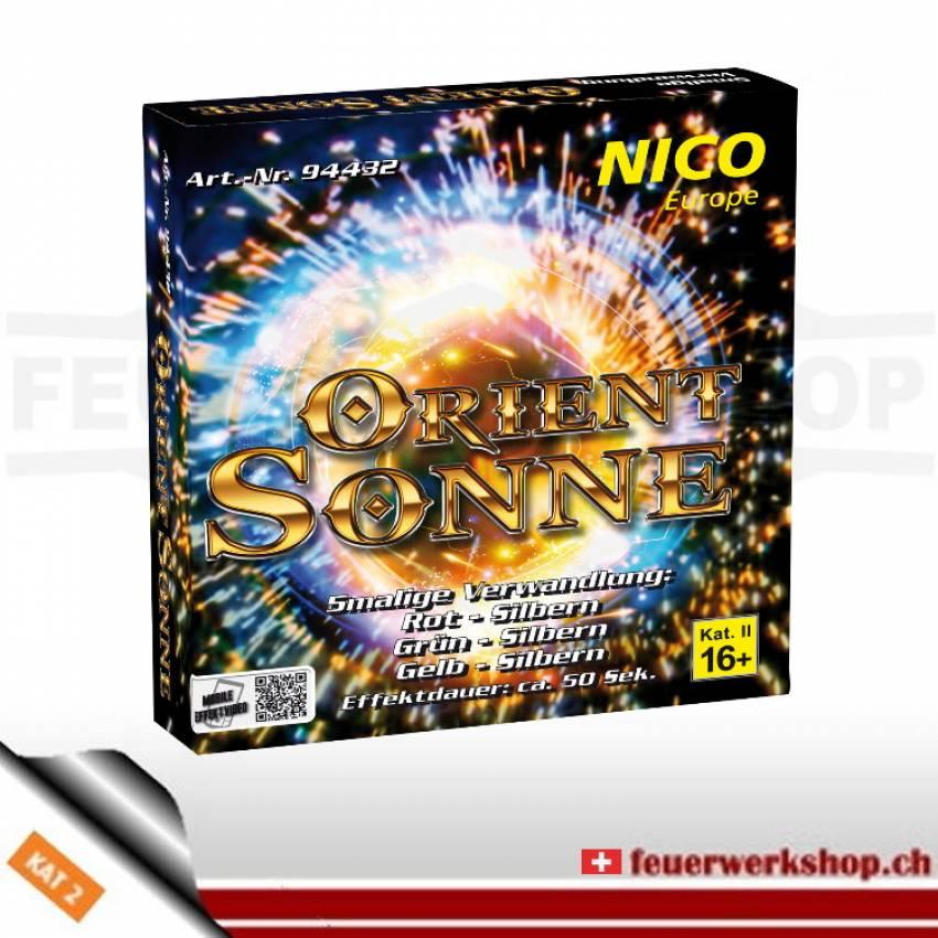 Feuerwerk Sonne *Orient* von Nico