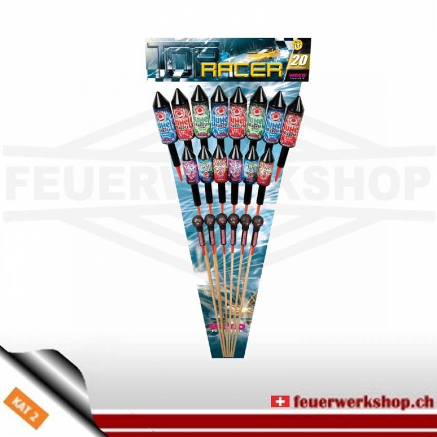 Weco Feuerwerk Raketensortiment *Top Racer*