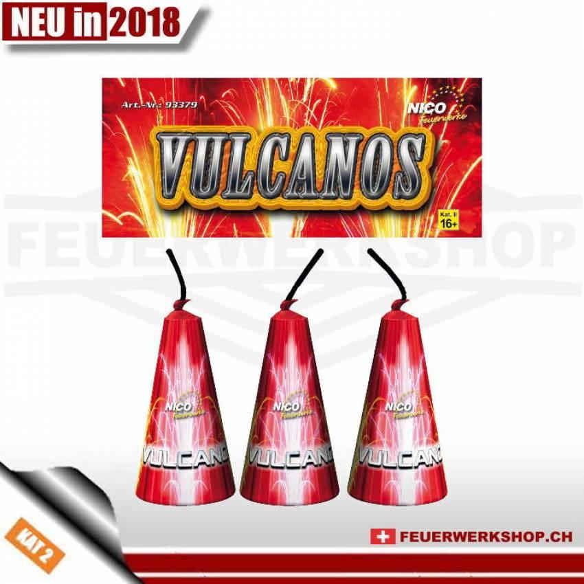 Feuerwerkvulkane*Vulcanos* von Nico - 3er