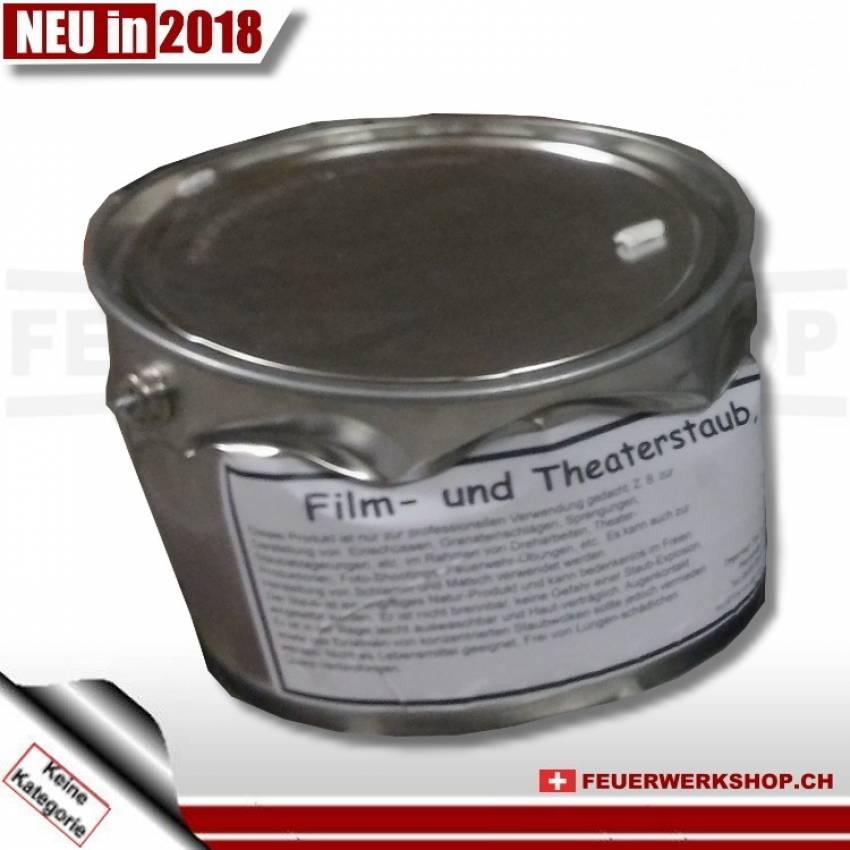 Film- und Theaterstaub grau