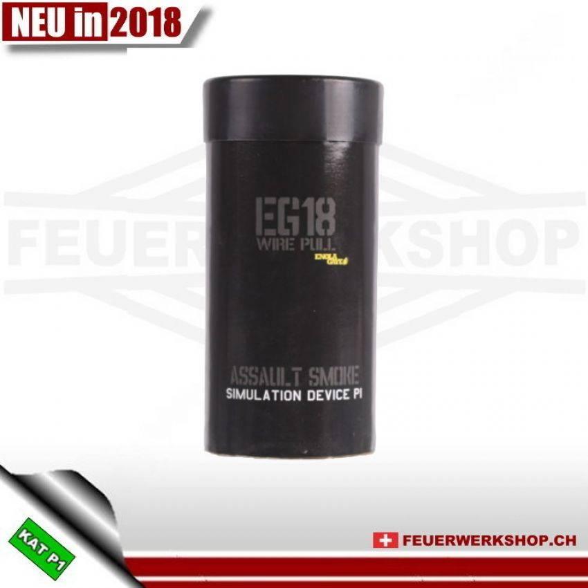 Enola Gaye Rauchgranate Maxi EG 18 schwarz