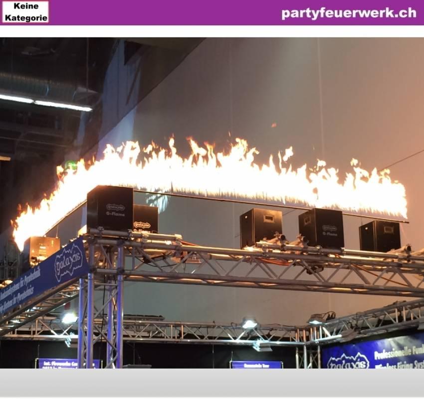 Feuerwand Aufsatz für G-Flame - zur Miete