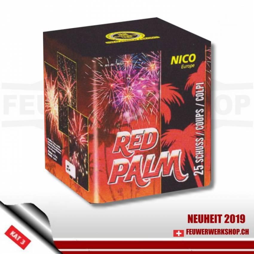 Feuerwerk *LB Red Palm* von Nico