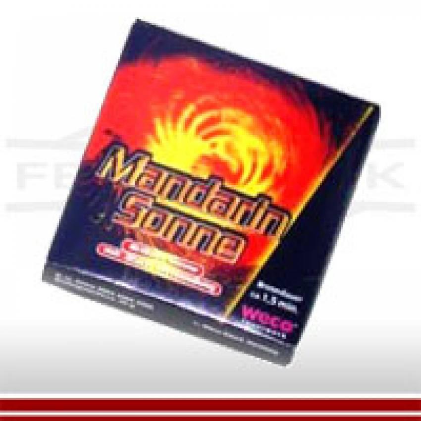 Mandarin Feuerwerksonne /Silbersonne