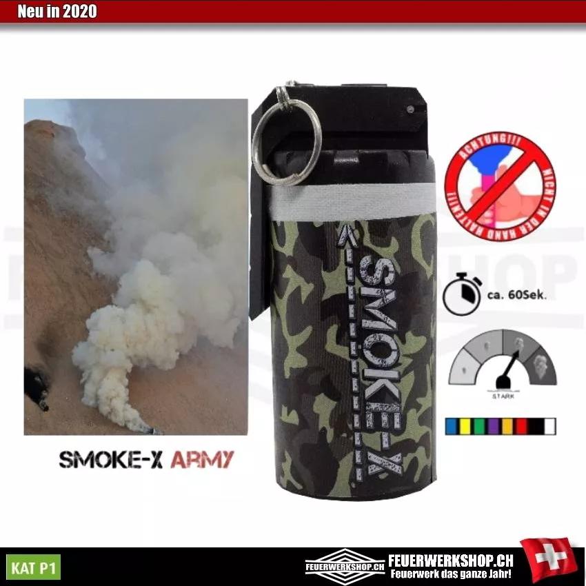 Rauchgranate mit Kipphebel