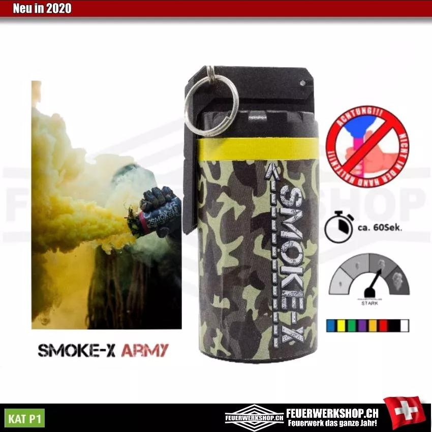 Rauchgranaten für Paintball und Airsoft