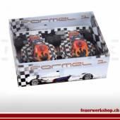 Formel 1 Autos mit Pyrotechnik