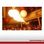 Feuershow mit Pyrotechnik 5-15 Minuten