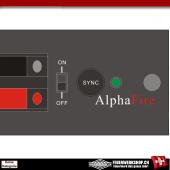 *AlphaFire 1Q* 1 Kanal Funkzündanlage (Ver. 8)