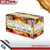 Multikaliber Batteriefeuerwerk *Explosion*