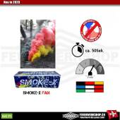 Dreifarbiger Fanrauch Deutschland smoke-X